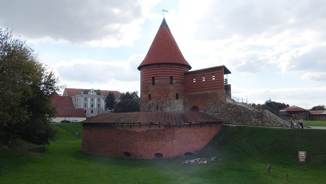 Gothic Architecture In Kaunas