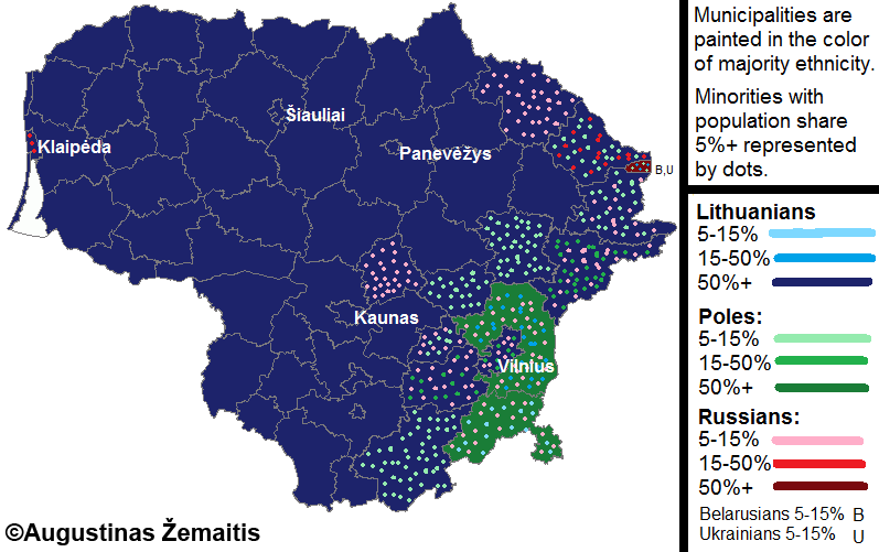 Ethnic Groups in Lithuania The Majority and Minorities True Lithuania