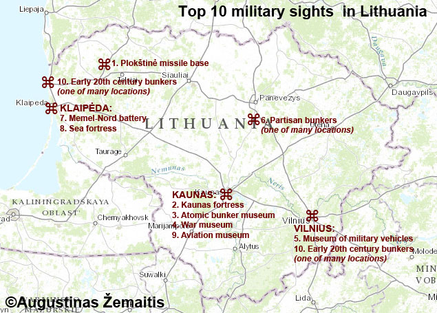 Top 10 War sites in Lithuania True Lithuania