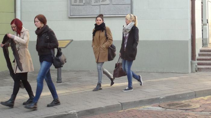 Students in Vilnius