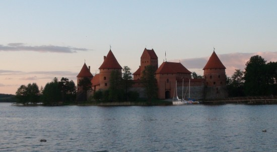 Trakai water castle