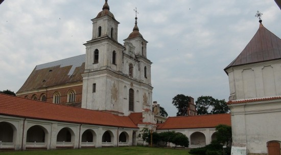 Tytuvėnai Monastery cloisters