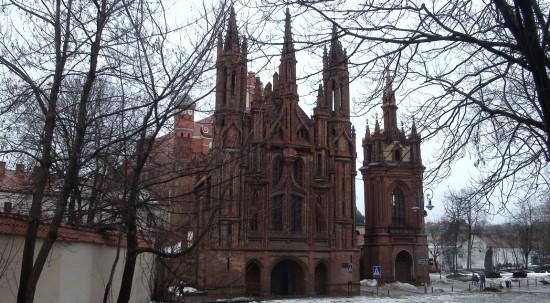Saint Ann church in Vilnius