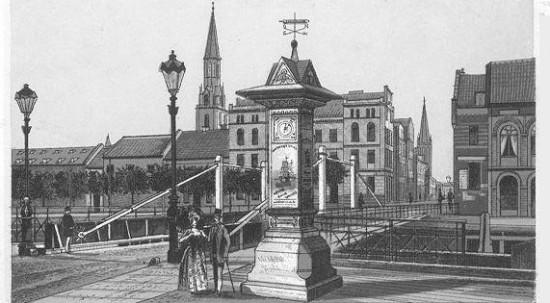 Klaipėda Old Town in 1880s