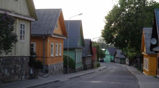 Trakai Karaim street