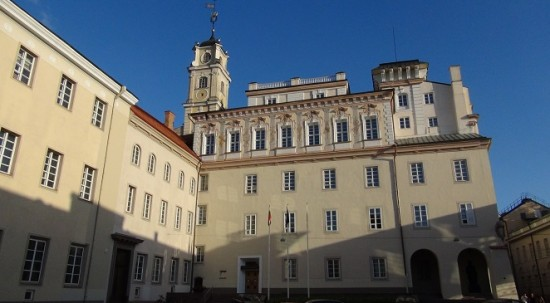 Vilnius University main campus