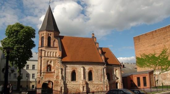 St. Gerthrude church near Vilniaus Street