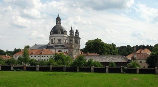 Pažaislis monastery in Kaunas