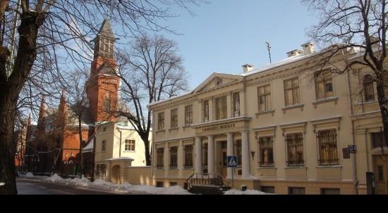 Liepų Street at Klaipėda New Town