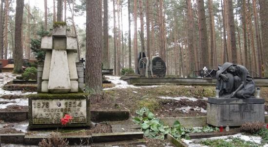 Petrašiūnai cemetery in Kaunas