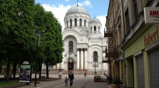 Sobor in Kaunas New Town