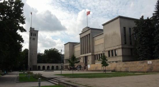 Vienybės (Unity) square in Kaunas