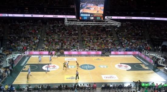 Basketball in Kaunas Žalgiris arena