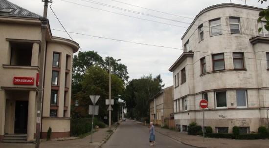 Žaliakalnis borough in Kaunas
