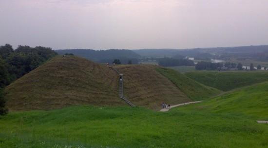 Castle hills in Kernavė