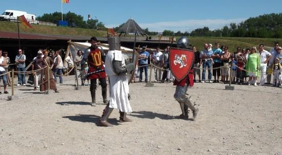 Medieval festival at Klaipėda castle