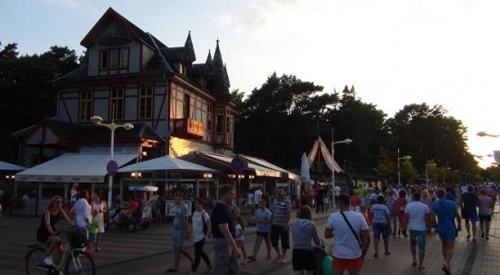 Basanavičiaus street of Palanga.