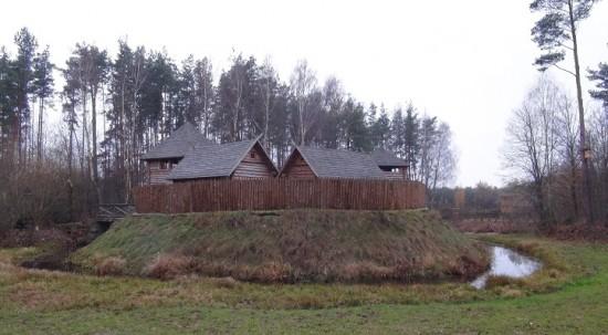 Prussian-Yotvingian settlement near Punsk