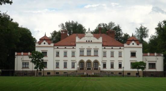 Rokiškis town manor palace.