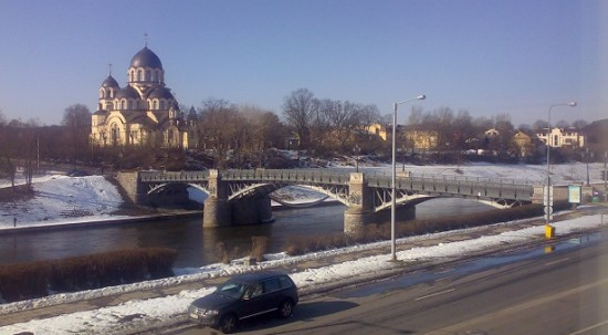 Žvėrynas borough in Vilnius.