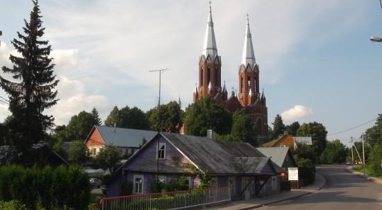 Anykščiai church.