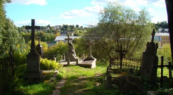 Bernardine cemetery in Vilnius.