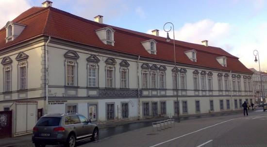 Little Radvila palace in Vilnius