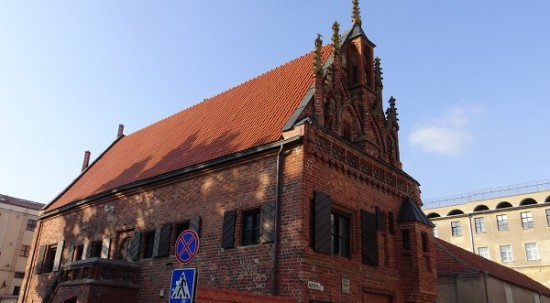Gothic townhouse in Kaunas