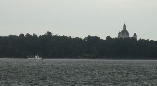 Kaunas reservoir at Pažaislis