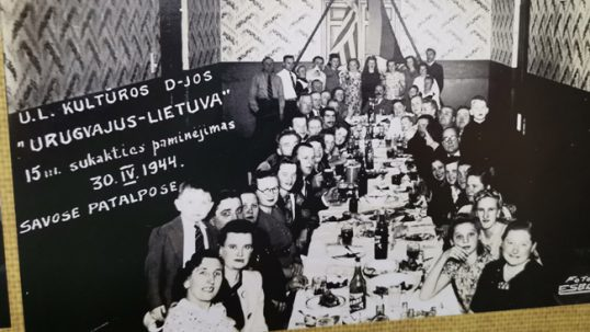 Uruguay Lithuanians celebrate 15th years of establishing their club