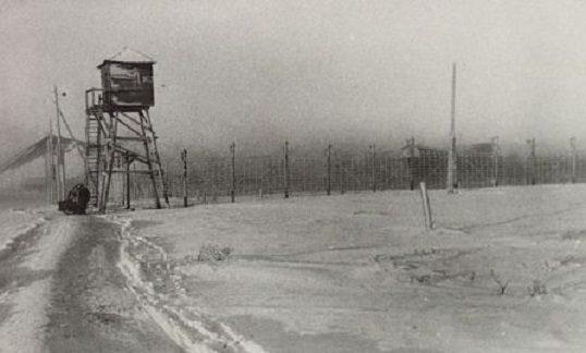 Entrenched Gulag near Vorkuta